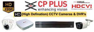 Cp Plus High Definition CCTV Cameras & DVR's