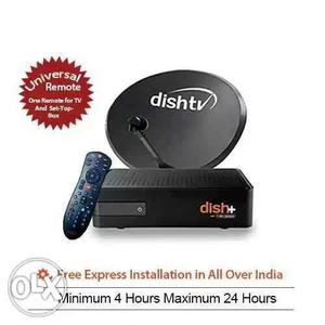Dish tv one time payment and Life time warranty