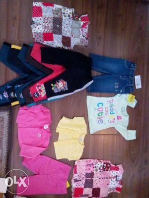 Distress sale. brand-new cloths for new born to