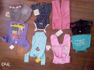 Distress sale. set for 3 months old baby. MRP