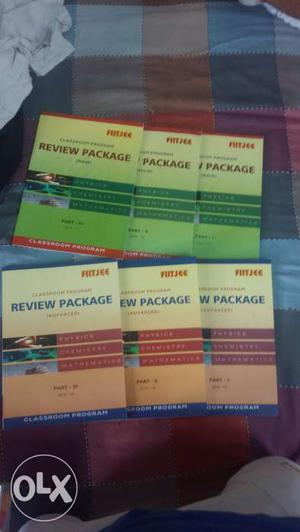 FIITJEE Review Packages for both JEEMains and