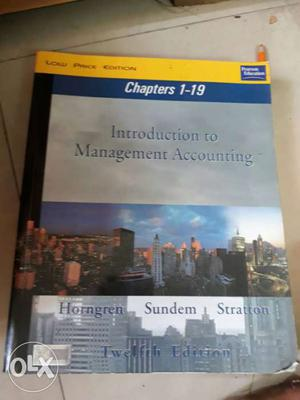 Introduction to management accounting by horngren