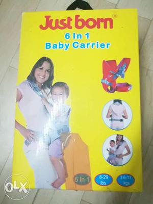 Just Born 6 In 1 Baby Carrier Box