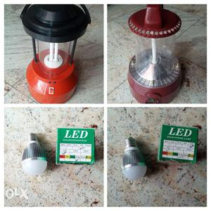 New CFL lantern 9watt without battery and charger