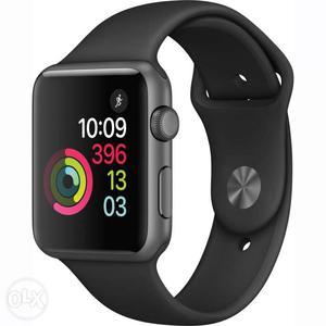 Apple watch series1 black sports band 38 brand