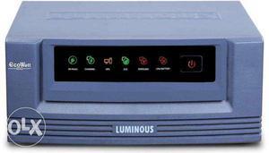 New luminous 650va inverter + 100AH Battery