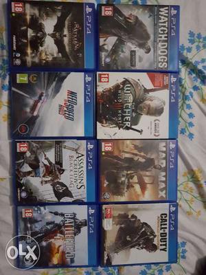 8 Sony PlayStation 4 games