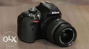 Black Nikon DSLR D