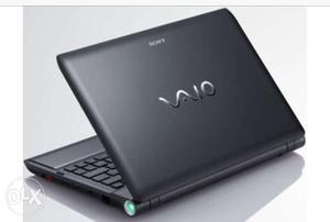 Black Sony Vaio Laptop Computer