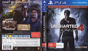 Ps4 uncharted 4 playstation 4 game