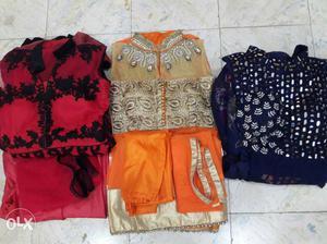 Three Assorted Dresses