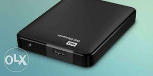 WD- Elements USB 2TB 3.0 high-capacity portable