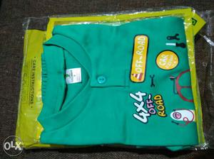 Full sleeve cotton pant n shirt set, 3 month baby size,