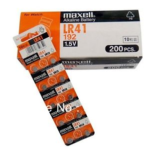MAXELL 50PCS LRV ALKALINE BUTTON COIN CELL BATTERY