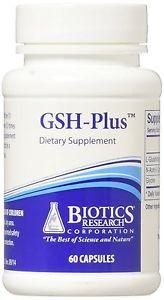 Biotics Research, GSH-Plus 60 Capsules