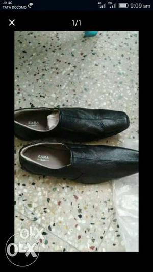 Black pure leathers shoes for sale in Chennai