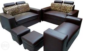 Brand New Leatherite 8 Seater Sofa Set.