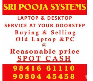 Computer Laptop Sales and Service Dealers in Chennai.
