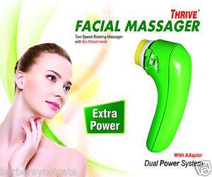 THRIVE FACIAL MASSAGER ROTATE,2 Speed Rotating Facial Face