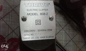 Trimmer machine 808. thrive company. made in japan