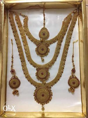 Beautiful Artificial Jewellery set for Marriages
