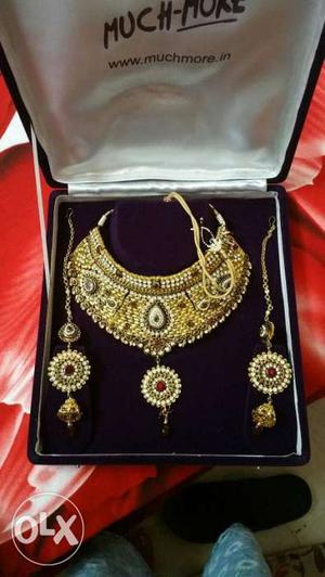 Bridal jewellery...
