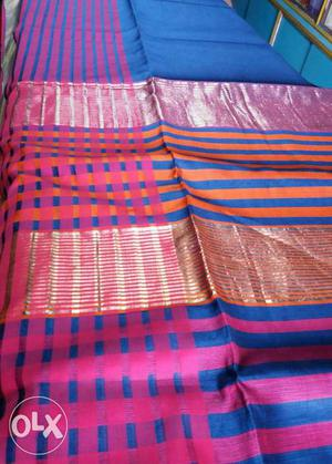 Latest new Collection of Maheswari Slik only for