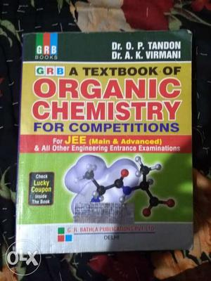 This is organic chemistry book by op tandon and