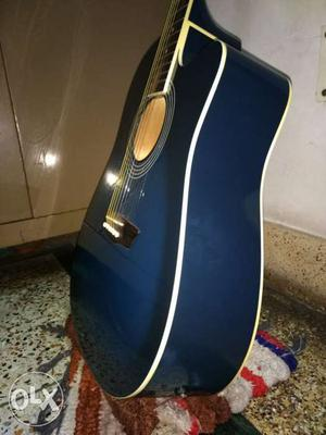Washburn semi acoustic guitar with bag perfect