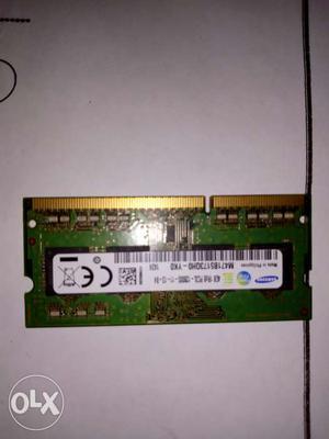 1 year used laptop RAM(4 gb DDR 3)