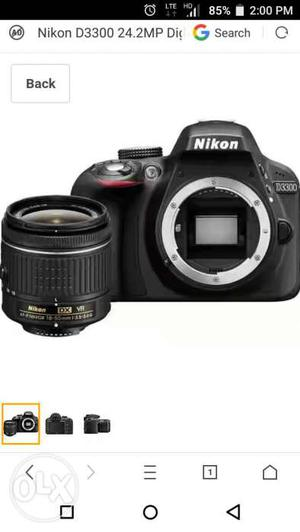 10 Days Old Nikon D DSLR Camera with