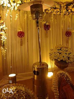 For party's cammecial gais heaters on rent for