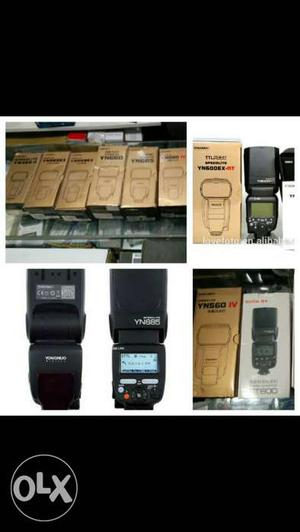 Godox and Yongnuo flashes at best price in Mumbai