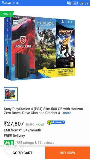 I want ps4 on emi please can anyone give me msg