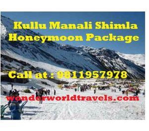 Kullu Manali Shimla Honeymoon Package from Surat Surat