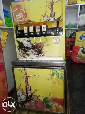 Sodawala machine with 6 flavor for sale only Rs