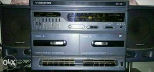 Videocon 2 in 1 tape recorder