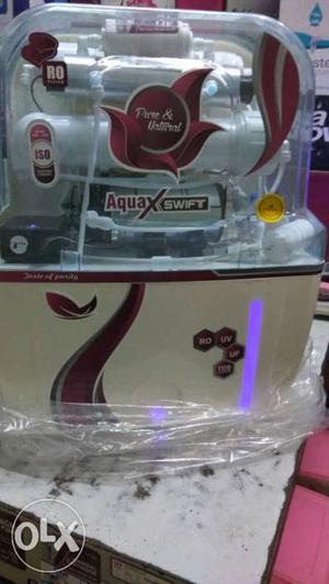 Water purifier brand new with one year wrantty
