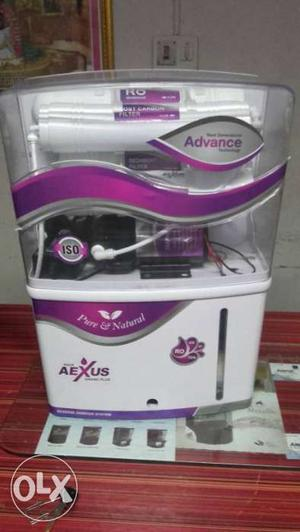 White And Purple Water Purifier