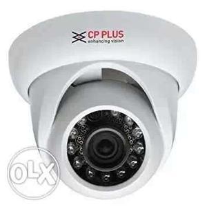 White CP Plus Surveillance Camera