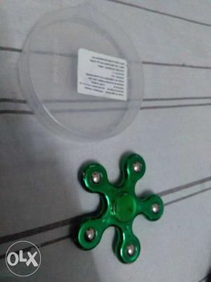 5 face metal fidget spinner.Very fast and long lasting spin.