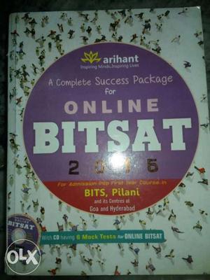 BITSAT online exam  book for engg. Arihant