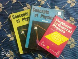 Concepts of Physics by HC Verma vol 1 & 2 and