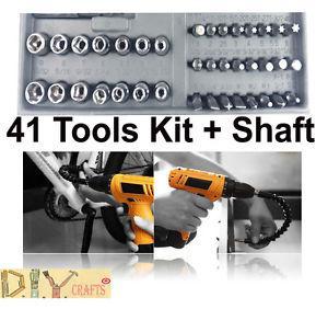 DIY Crafts®1pc Shaft Bit Extension Drill 40 Bit Connecting