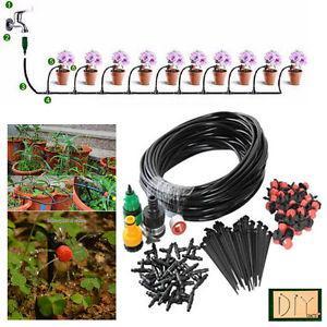 DIY Crafts®7Pot Plant Micro Drip IrrigationSyst em Garden