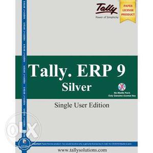 GST Ready Tally ERP 9 Single user with