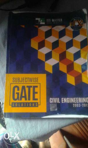 Gate preparation book for Civil Engg. with one CD.