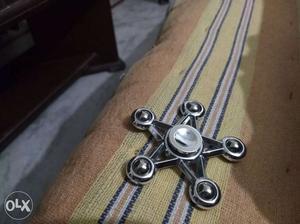 Gray 5-pointed Fidget Hand Spinner