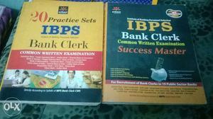 IBPS clerk bank exam book