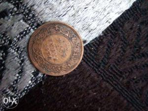 It's a very old coin of George v king in good